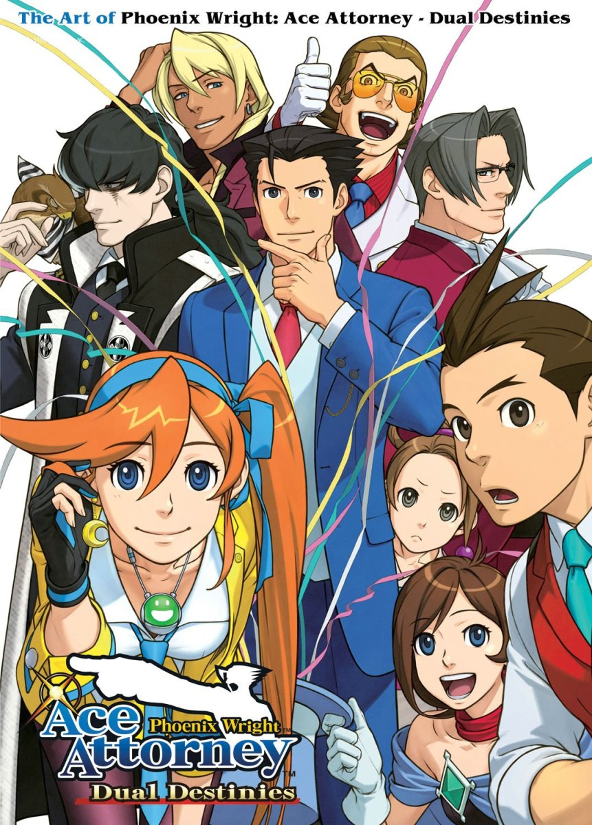 Ace Attorney-Dual Destinies Visual Art Book Review