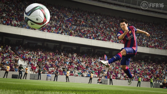 FIFA 16 Review: Play the Beautiful Sport(PS4,X1)