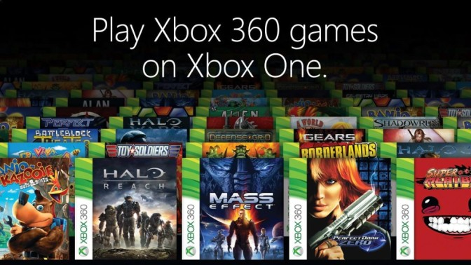 New Xbox One Backwards Compatibility Titles
