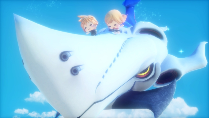 New WORLD OF FINAL FANTASY Screenshots Released Today