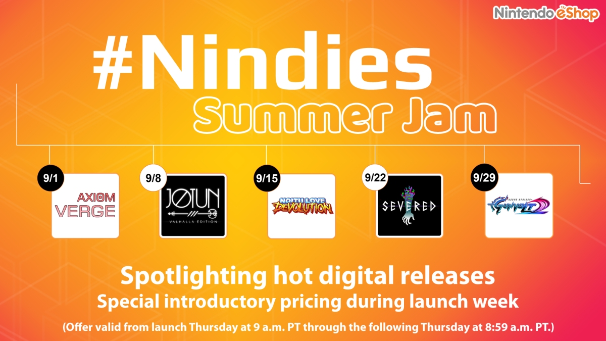 Nintendo Nindies Summer Jam  Promo
