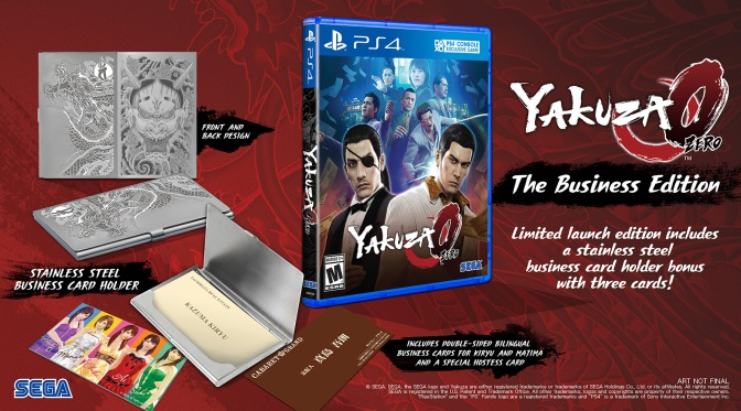 Yakuza 0 Arriving January 24th 2017