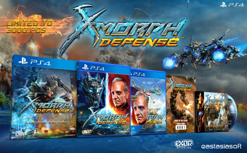 X-Morph: Defense Limited EditionAnnouncement