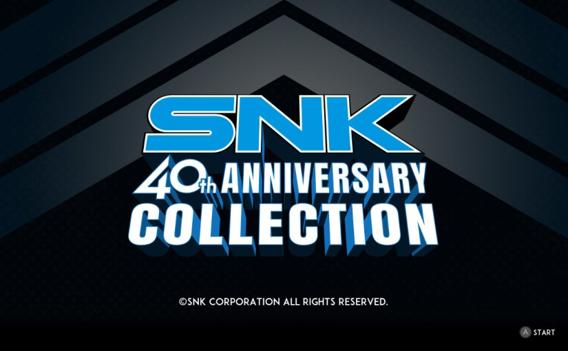SNK 40th Anniversary Collection Arriving for PS4Soon